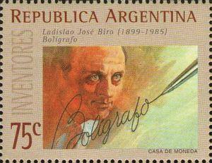 Image result for Ladislao José Biro