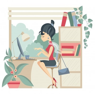 Working mom to stay at home