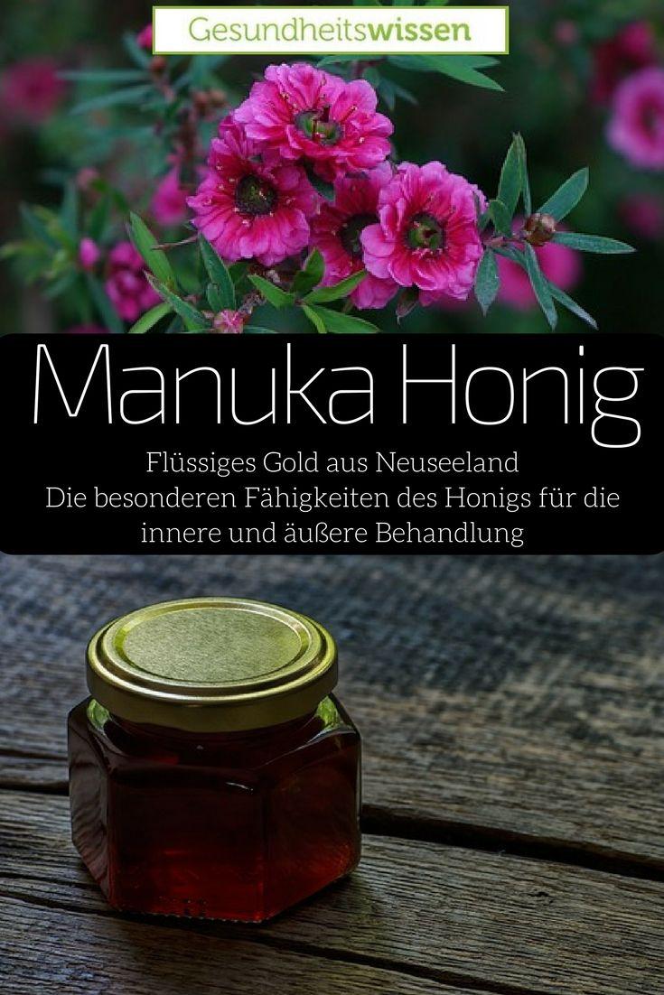 Seit Jahrtausenden ist Honig ein kostbares Nahrungsmittel. Dieser Honig hat es aber in sich! Der Manuka Honig ist ein Schatz aus Neuseeland. Die Manua-Pflanze ist bekannt für ihre heilende Wirkung und nachdem Bienen aus Europa nach Neuseeland importiert wurden, begann auch dort die Honigproduktion. Herausgekommen ist dieses Wunderprodukt, dass innerlich wie äußerlich sein heilendes Potential entfalten kann.