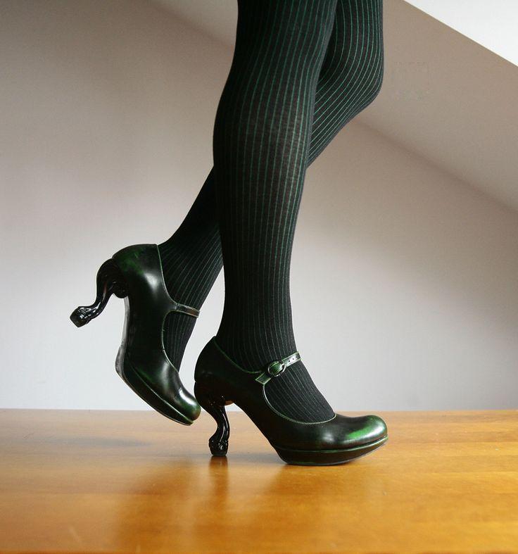 Cotton tights - black the green. http://www.raspberryheels.com/shop/produkt,en,stylish,xara-cotton-bg.html