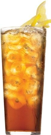 Long Island Ice Tea Recipe - 1 ounce each of Vodka, gold tequila, rum, gin, Cointreau or triple sec. 5 ounces sweet and sour mix, and splash of cola for color.