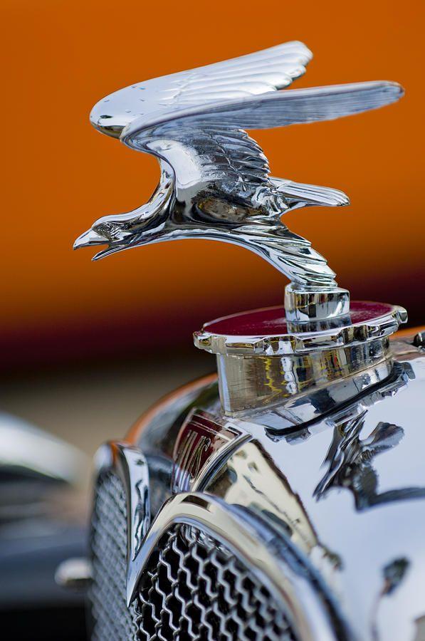 1932 Alvis Hood Ornament 2 Photograph by Jill Reger