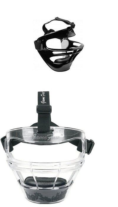 Other Baseball Clothing and Accs 159062: Markwort Game Face Sports Safety Mask W Colored Pony Tail Strap Men Women Youth -> BUY IT NOW ONLY: $35.99 on eBay!