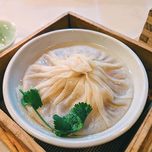 Shanghai Jumbo Seafood Soup Dumpling Lin Asian Bar Dim Sum