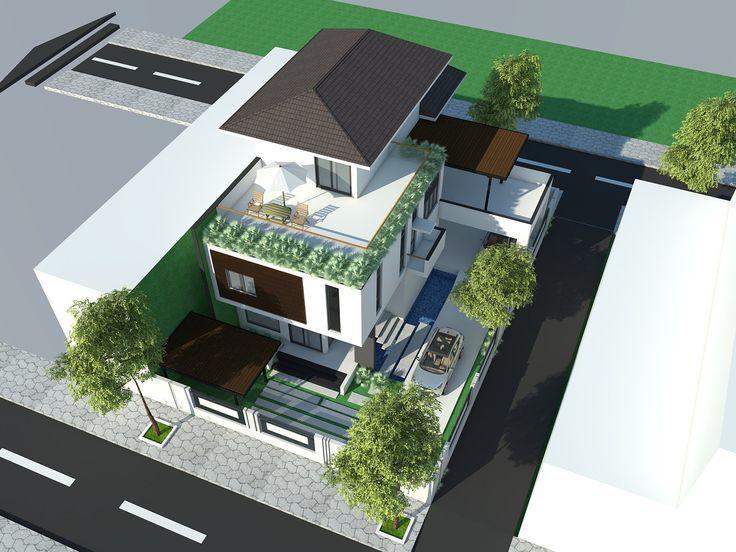 NHÀ ANH DŨNG  Hòa Xuân, Cẩm Lệ, Đà Nẵng  Thiết kế: Kiến Trúc Gu Hotline: 0905 72 6446