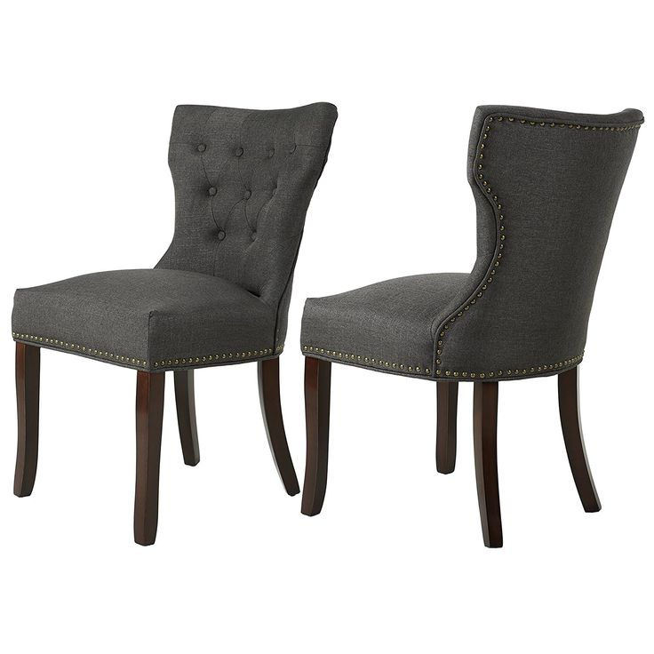 Best Amazon Com Lssbought Set Of 2 Fabric Dining Chairs 640 x 480