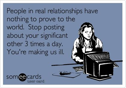 Bahah some people are so pathetic & insecure. If i were in that relationship i would be tooooo ;)