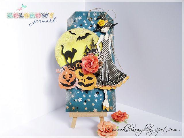 Mój kreatywny świat: Halloween doll