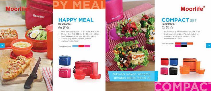 Moorlife New Happy Meal (215.000) & Compact Set (180.000) Harga diatas belum termasuk discount