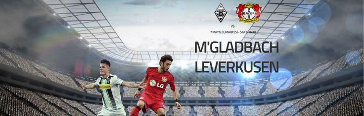 M'Gladbach - Leverkusen  Bugün Saat : 16:30  http://betend20.com