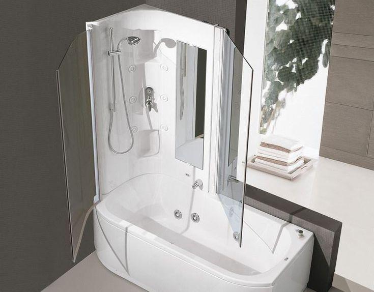 Vasca con doccia integrata