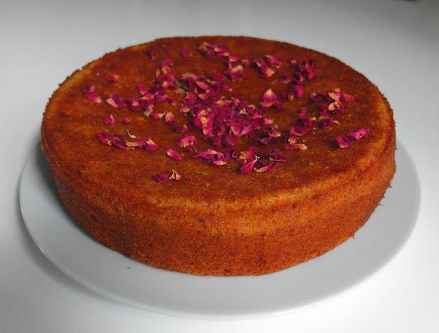 Aneta Goes Yummi: Perzský pomarančový koláč z mandľovej múky