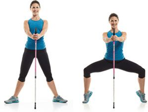 Walking Workouts with Nordic Walking Poles - Prevention.com