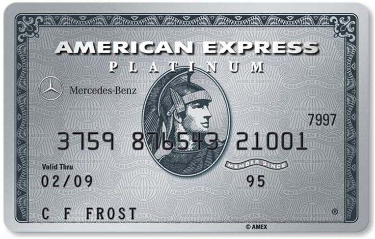 American Express Platinum |USA | Mercedes Benz A