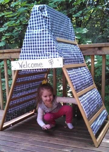 35 Ways to Repurpose Cribs (and Parts of Cribs) via TheKimSixFix.com