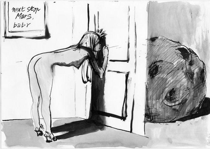 La Belle Illustration: Blutch à la Galerie Martel, quelques dessins, du 16…