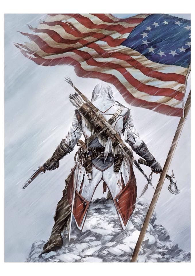 17 best assassins creed images on pinterest assassins creed while working assassins creed iii ubisoft brand comic book artist alex ross created a signed and numbered limited edition poster which he signed and malvernweather Image collections