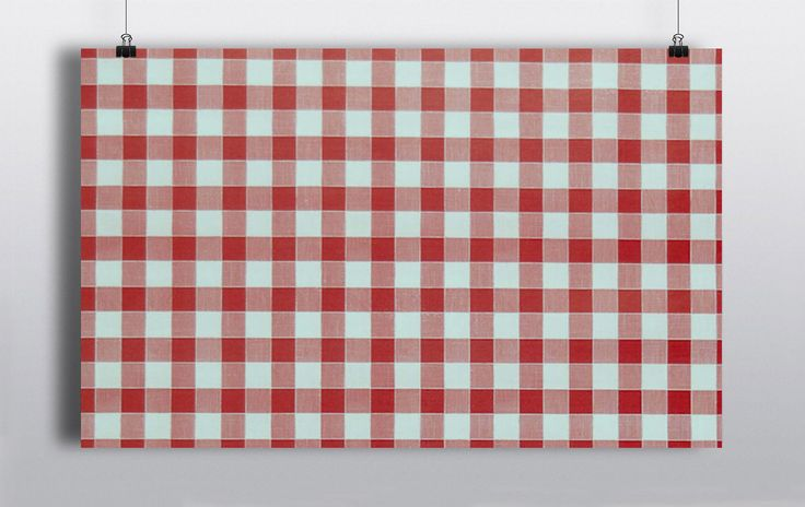 Chequered Red & White Gingham table linen, available in 90x90inch. http://www.prophouse.ie/portfolio/gingham-table-linen/
