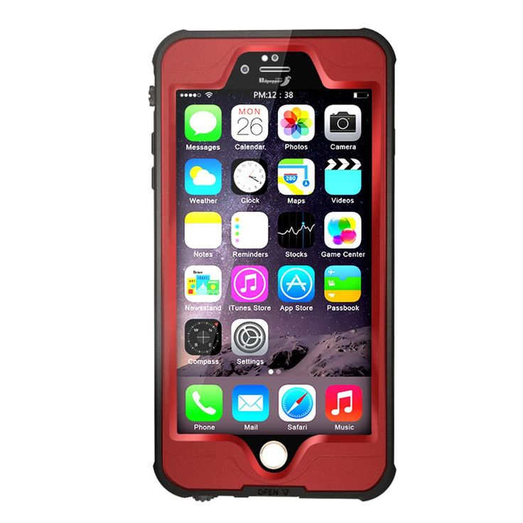 IPhone 6 Plus Waterproof Case, YOOHOG DOT series Pro Waterproof and Durable iPhone 6 Plus Case Underwater Full Sealed Protection Case Cover. Simple, elegant, functional, the Vibrance iPhone Case features a refined design, vibrant colors, and lasting prote