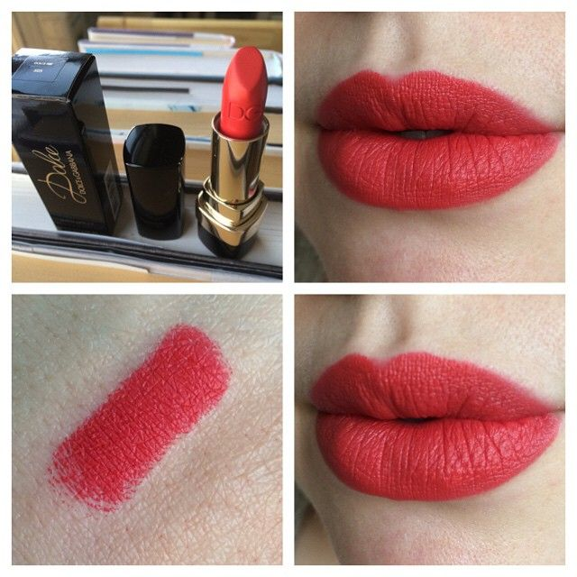 9b878e9abacc dolce   gabbana matte lipstick in dolce fire - one killer red!  gogetcozy dontcallmejesse gorg! What s your favorite red of all time   dontc…