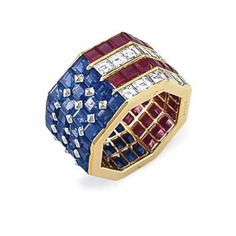 A piece of USA history. A beautiful ring. An elegant Lady. Here you are with the…