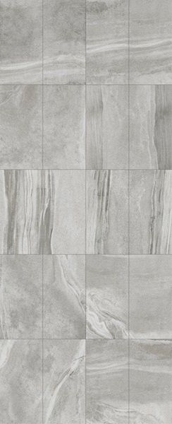 BOLD MODERN STYLE  Dura-Tiles Shades is a glazed porcelain series with bold veining and texture. This tile is available in 4 contrasting colours perfect for modern designs.