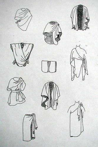 Here are some different ways to wear a ruana.