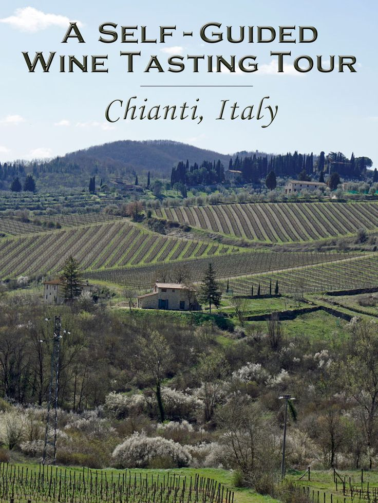 The best way to see and experience Chianti Classico wineries in Tuscany is on a self-guided wine tour.