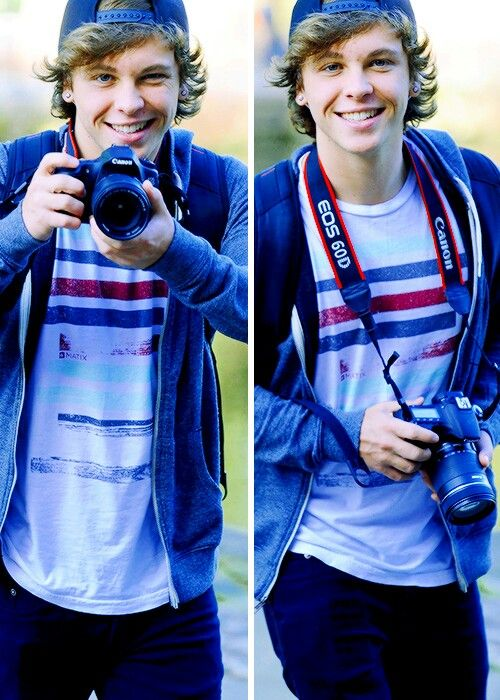 Keaton Stromberg, emblem3, and his passion the photography!!!!!!!!!!!!!!!!!!!