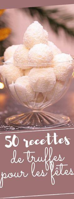 Découvrez nos 50 recettes de truffes pour accompagner le thé de noël
