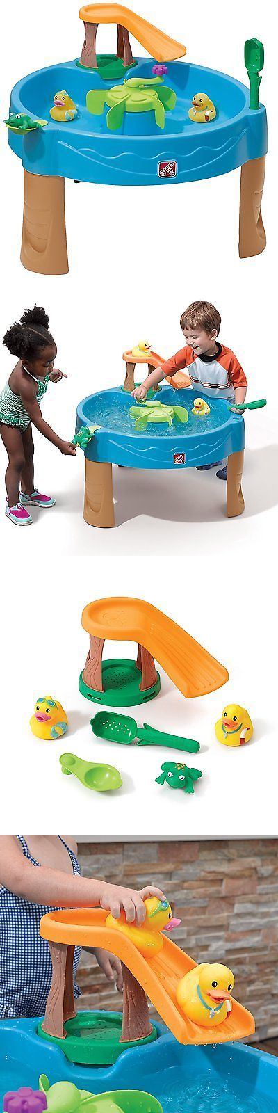 Water Toys 145993: Water Table Duck Pond Outdoor Activity Center Slide And Splash Seaway Fun Kids -> BUY IT NOW ONLY: $51.62 on eBay!