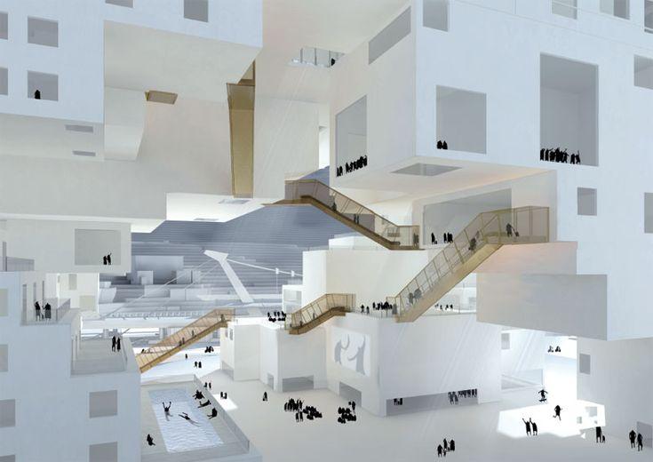 Centro de artes escénicas de Taipei (Taiwan): Propuesta de NL Architects | Urbanity.es