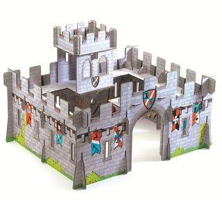 Château médiéval en carton Djeco