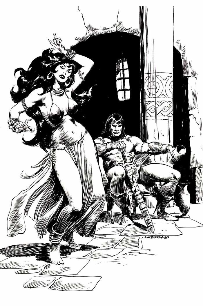 Shades of Gray: Picture Perfect Wednesday    John Buscema's Conan