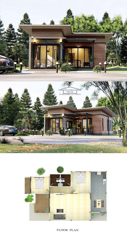 Cool Modern House Plans 2021 Gaya Arsitektur Arsitektur Rumah Arsitektur