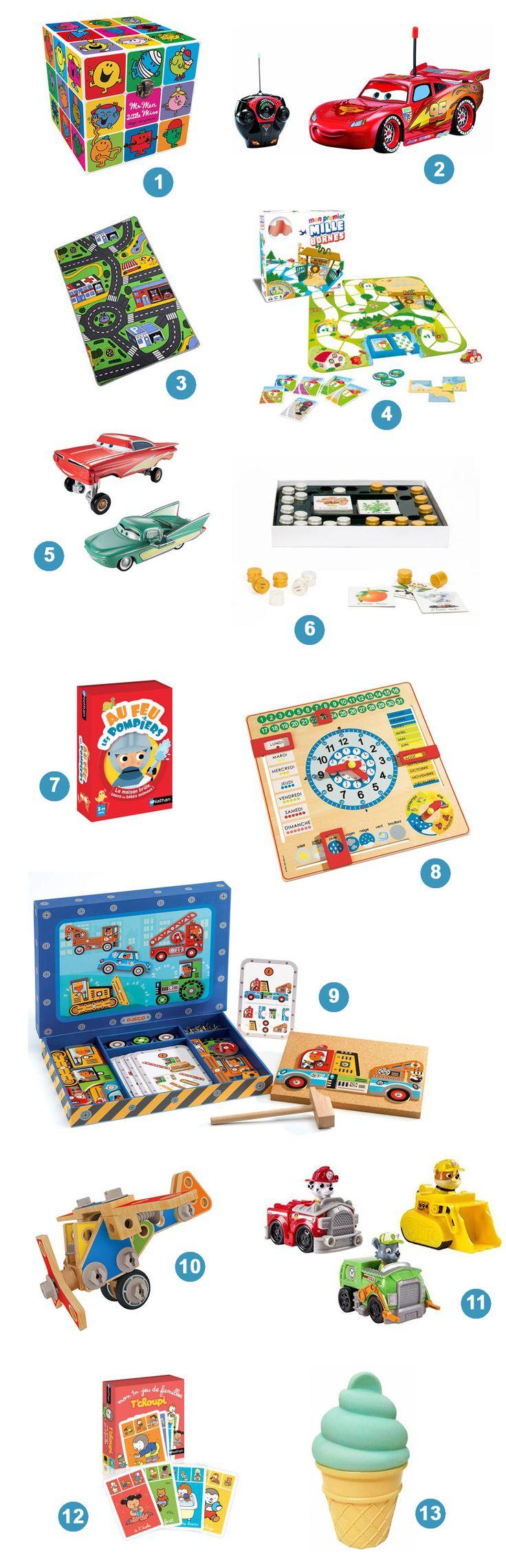 Liste au Père Noël - Idée cadeaux garçon 3 ans #noel #garcon #cadeaux #idees