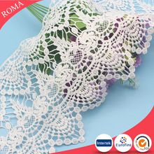 New fashion white trimming lace for wholesale lace trim