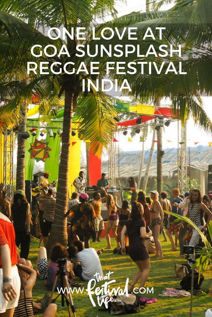 One love at Goa Sunsplash Reggae Festival '18