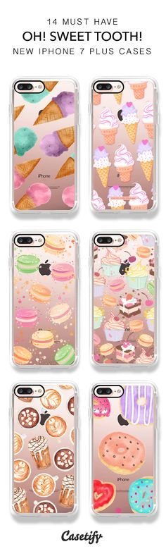 Sweetness in the air! 14 Must Have Food iPhone 7 / iPhone 7 Plus Phone Cases here > https://www.casetify.com/artworks/U1iThR8VHy