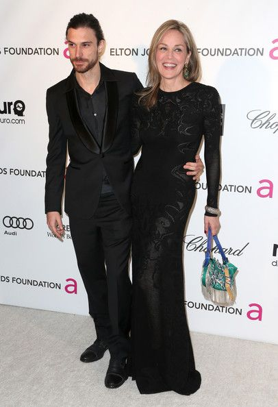 Sharon Stone & Martin Mica - Celebrity Women Who Have Dated Much Younger Men - Photos