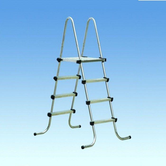 Лестница для надземных бассейнов 5+5 ступеней  IML Испания 9905