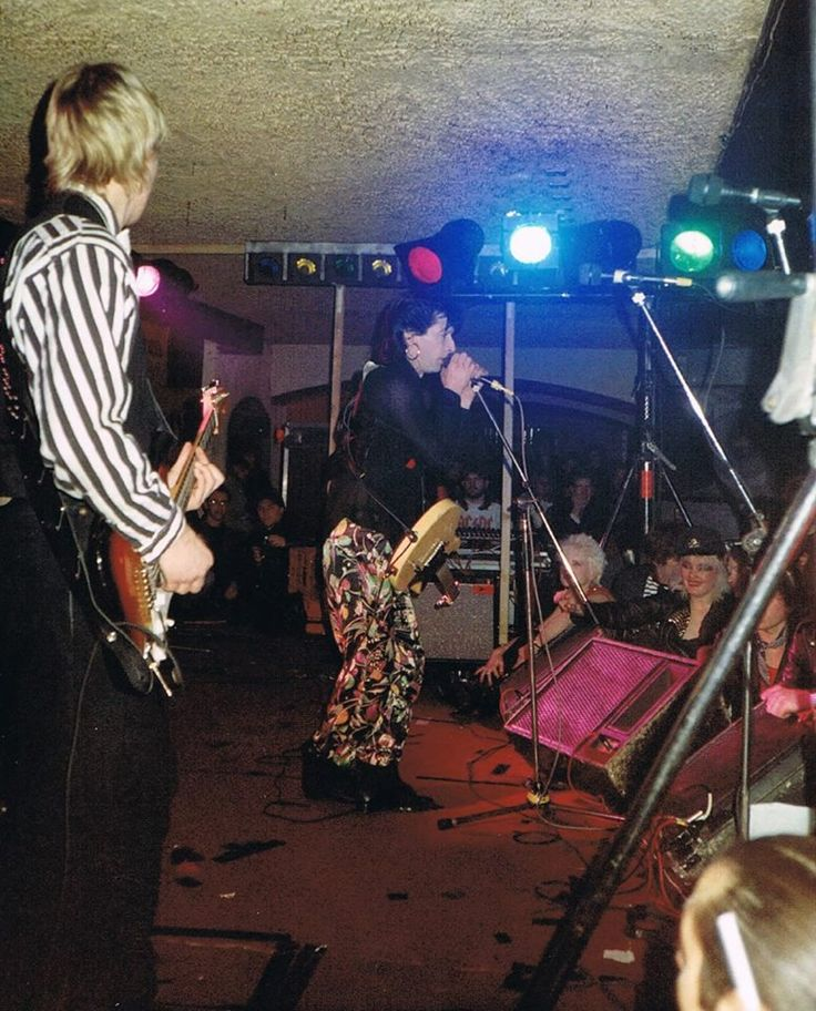 Johnny Thunders at the Bierkeller in Bristol, United KIngdom Nov. 29th 1987