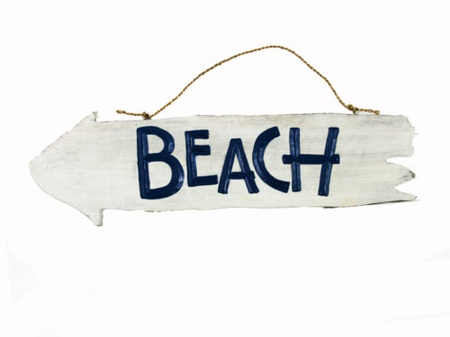 BEACH Sign Left Arrow Directional Sign  (805) 479-Tiki (8454) M-F 9am-5pm PST eBay user ID: TIKITOESCA or email address:  TikiToesCa@aol.com Thanks! Michele Craft.  Click on the picture to take you to order page. OR Call in your order with a major credit card & mention you saw it on Pinterest & get a free gift!