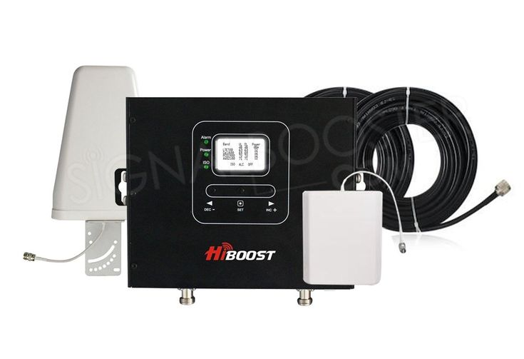 HiBoost Commercial 20K Pro 3G 4G LTE Cell Booster 20k Ft² | Pro20-5S-LCD