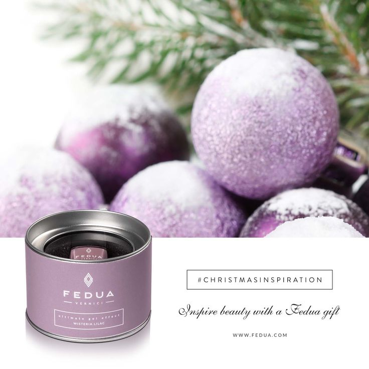 Christmas becomes chic with Wisteria Lilac! Il Natale si fa chic con Wisteria Lilac!  ‪#‎christmasinspiration‬