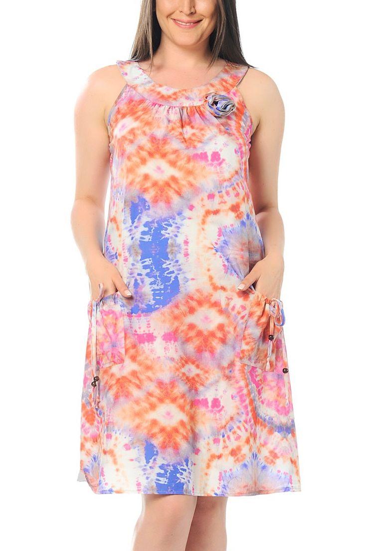 Batik Elbise 65N1018 Şans   Trendyol