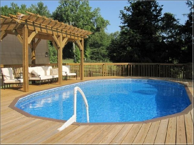 Above Ground Swimming Pool Deck Designs above ground pool decks hgtv 124 Best Images About Above Ground Pool Decks On Pinterest Decks Landscaping And Oval Above Ground Pools