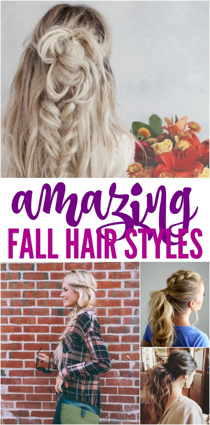 Amazing Fall Hair Styles And Trends For Women Fall Hair Hair Styles Football Hairstyles