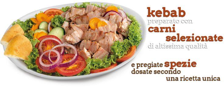 Oggi Kebab magro e gustoso con tante verdure fresche