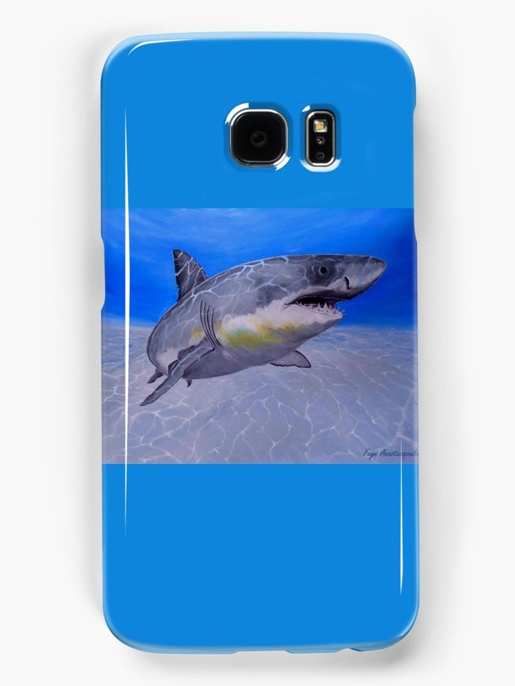 Galaxy Case,  aqua,blue,turquoise,cool,beautiful,fancy,unique,trendy,artistic,awesome,fahionable,unusual,accessories,for sale,design,items,products,gifts,presents,ideas, shark,wildlife,redbubble